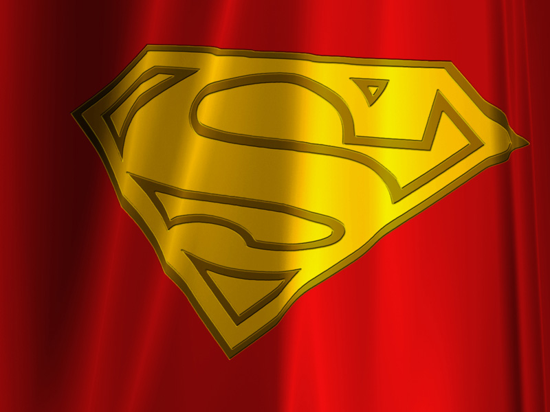 Superman Cape Logo My cape and wear it too