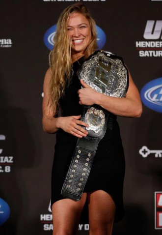 rousey champion