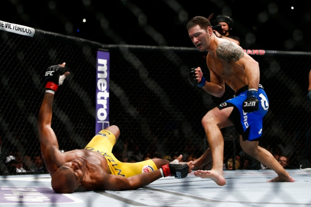 Chris Weidman vs Anderson Silva