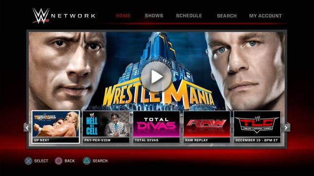WWE Network Recommendations