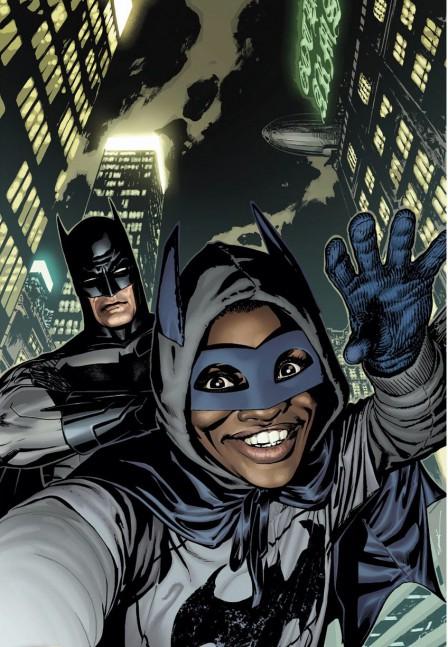 Batman-selfie-variant