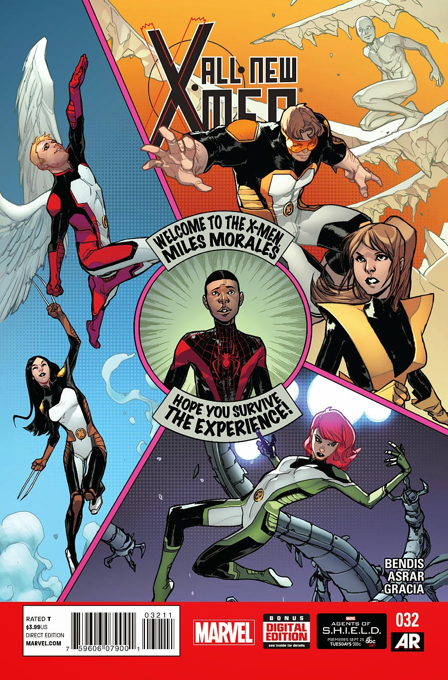 Man 32 Indicted In Alleged Misconduct With 14 Year Old: All New X-Men #32 Guest Starring Miles Morales