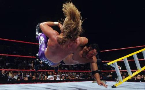 TheRock-vs.-Triple-H-Summerslam-1998