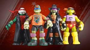 WWE and Teenage Mutant Ninja Turtles TeamUp