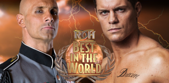 Daniels vs. Rhodes Headlines ROH 'Best in the World' on 6/23