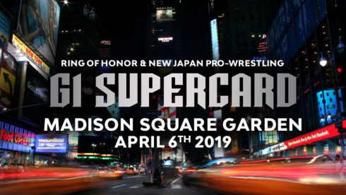 ROH & NJPW Announce 'G1 Supercard' at MSG