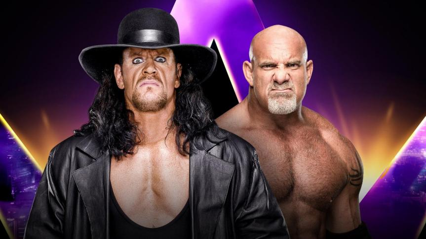 Undertaker vs. Goldberg Set for WWE Super Showdown