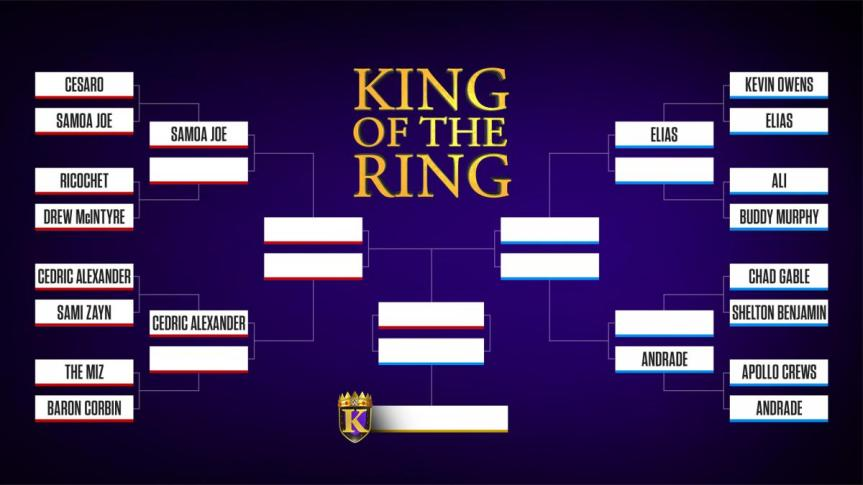 Late to the Party King of the RingBrackets