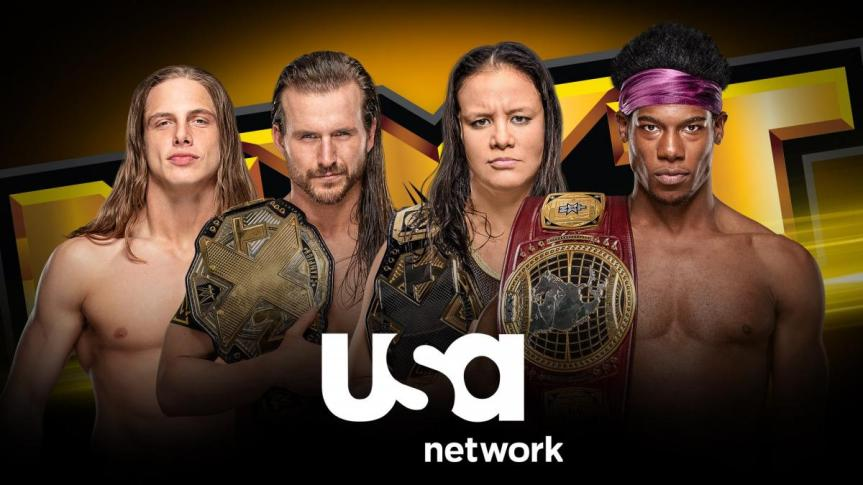 WWE Moves NXT to USANetwork