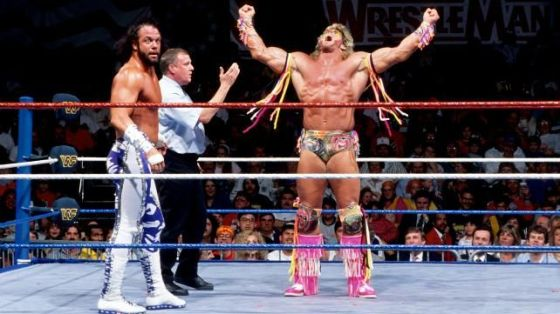 Macho Man Randy Savage vs. Ultimate Warrior: WrestleMania 7 - Career Match
