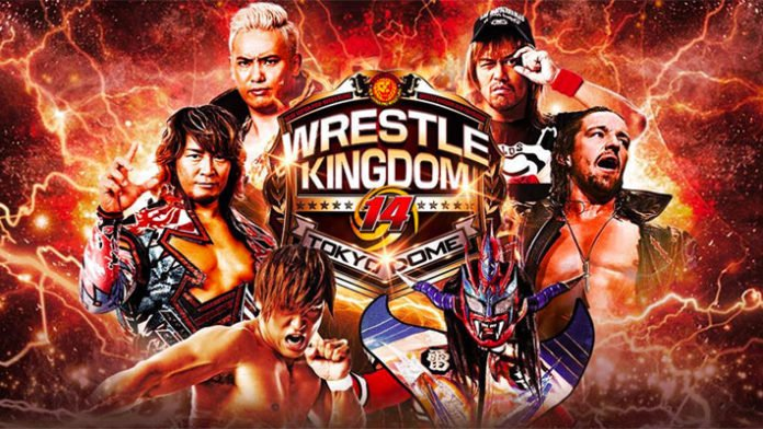 NJPW Wrestle Kingdom 14 Cards Revealed