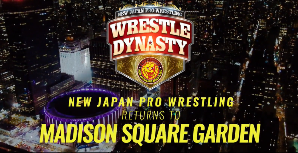 NJPW Returns to MSG in August
