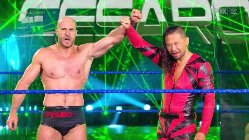 Cesaro & Nakamura's New Role InWWE