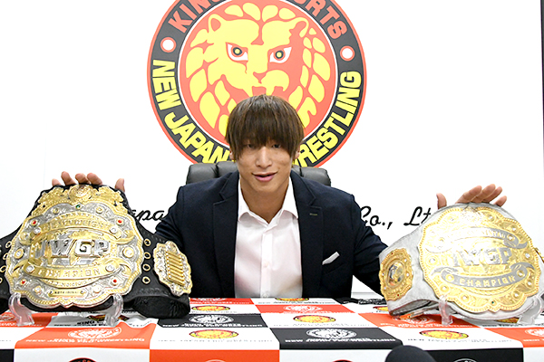NJPW Unifying IWGP Heavyweight & Intercontinental Titles