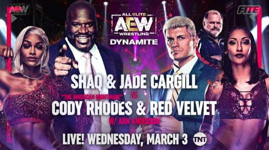 Shaq is Wrestling Tonight onTNT