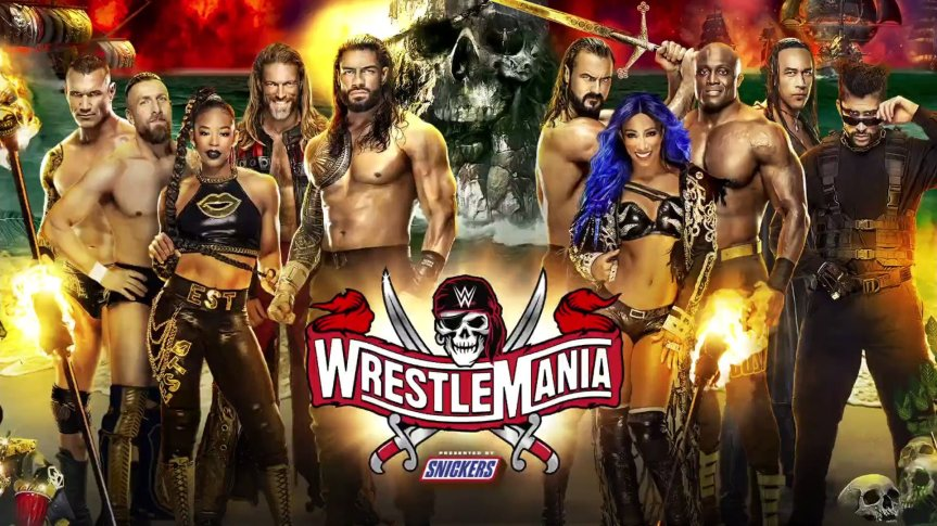 WrestleMania 37: Matches for Night 1 & 2